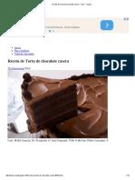 Receta de Torta de Chocolate Casera - Fácil - 7 Pasos