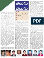 Civils Toppers, Telugu Velugu