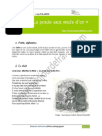 Poule Oeufs Or