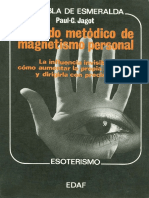 Jagot Paul - Tratado Metodico Del Magnetismo Personal