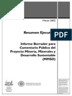 31 MMSD Resumen Ejecutivo