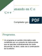 Programando en C o C++2012