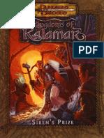 D&D 3.5 - Kalamar - Siren's Prize
