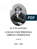 Blavatsky, Helena - Collected Writings Tomo III (1)