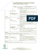 Programa de Control de Plagas - Arroz (1)
