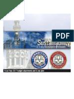 Pathway to Sustainability