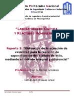 Reporte 2 Metodo Diferencial e Integral