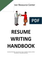 Resume Writing Handbook