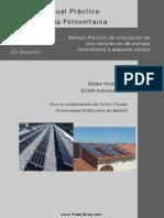 Manual Instalaciones Fotovoltaicas Domesticas