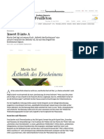 Rezension_ Insert B Into a - Feuilleton - FAZ