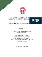 Modulo Didactica de Lenguaje y Comunicacion