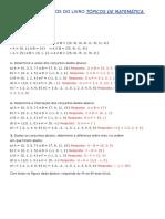 Todos Os Exercícios Do Livro Tópicos de Matemática Aplicada