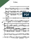 The Growl -  for Jazz Quartet