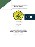 Review Jurnal Psikologi Pendidikan