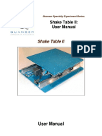 Shake Table II User Manual 2