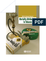 WHO Tobaco Report 2011