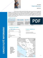 UNHCR Kosovo Fact Sheet 2016 - April - Albanian