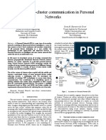 Securing inter-cluster communication in Personal  Networks