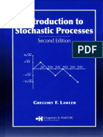 Lawler, Gregory - Introduction to Stochastic Processes
