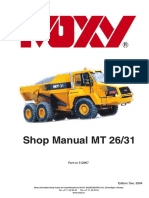 DOOSAN Shop Manual MT 26/31
