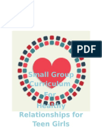 healthy relationships curriculum