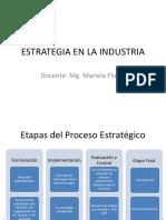 Estrategia en La Industria