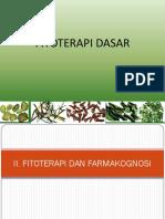 3 Fitoterapi Dan Farmakognosi