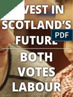 Scottish Labour Manifesto 2016