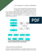 Principales Etapas en La Preparación de Productos Deshidratados Osmóticamente