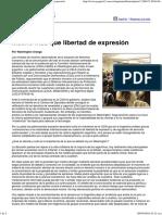 Página_12 __ El País __ Mucho Más Que Libertad de Expresión