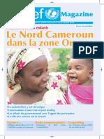 UNICEF Cameroun Magazine, janvier 2014