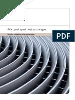 Alfa Laval Spiral Heat Exchanger Brochure