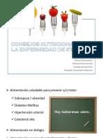 2016 03 Consejos Nutricionales en La Enfermedad de Steinert