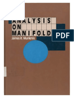 Analysis on Manifolds