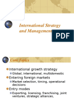 International Strategy and Management - Tomas Hult.ppt