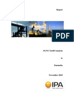 FLNG Tariff Analysis