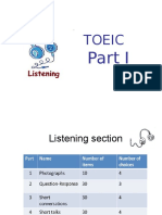 Toeic Listening Part 1
