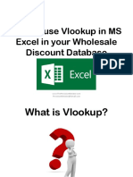 How to Use Vlookup in MS Excel in Your Wholesale Discount Database_Sofia B_Precision Minister