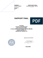 Rapport Final crash Air Algérie