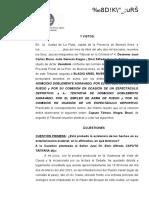 Sentencia Condenatoria Toc 4 La Plata