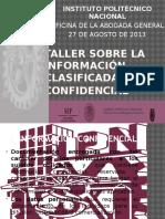 Taller Infoconf Ago2013