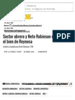 04-25-2016 Sector Obrero y Neto Robinson Unidos Por El Bien de Reynosa