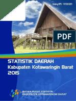 Statistik Kabupaten Kotawaringin Barat 2015
