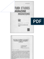 Stereotipi consolidati e stereotipi in formazione. Zingari e immigrati a confronto. di Pierpaolo Leschiutta e Claudio Marta