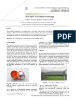 A review paper on goal line technology