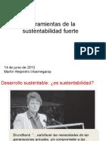 Sustentabilidad Fuerte Debil Clase Juanjo 2013