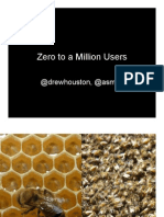 From Zero to One Million Users