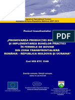 Proiect Transfrontalier MIS ETC 1549