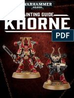 Warhammer 40.000 Painting Guide - Khorne