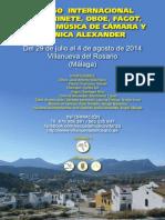 CARTEL Curso Internacional Villanueva Del Rosario-1